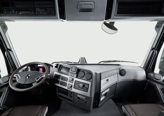 Renault Trucks Interior Renault Trucks Presenta Sus