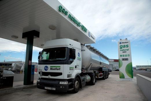 El gas natural en el transporte de mercanc as cami n for Imagenes de gas natural