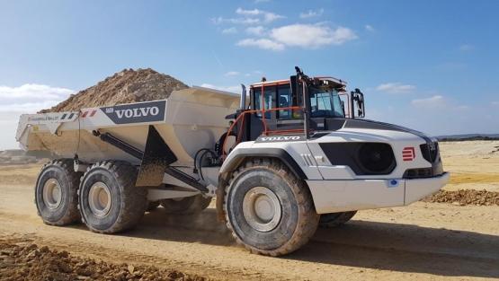 2c4bb980d Eiffage elige los Volvo A60H equipados con transmisión Allison ...