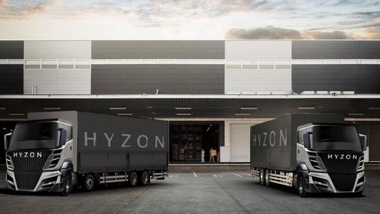 """Resultado de imagen de hyzon truck"""""""