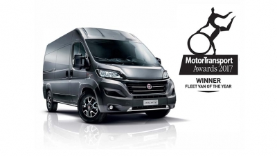 "Fiat Ducato, elegido ""Fleet Van of the Year 2017"" en Gran Bretaña"