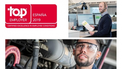 Scania, empresa Top Employer un año más