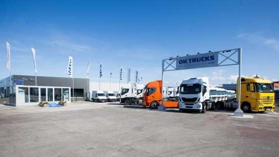 Iveco ok trucks aterriza en asturias cami n actualidad for Camiones usados en asturias