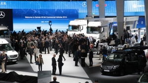 Feria de transporte IAA Commercial Vehicles