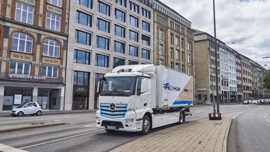 Mercedes-Benz eActros de Nagel-Group