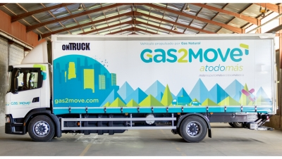 Ontruck y Gas2Move apuestan por el gas natural