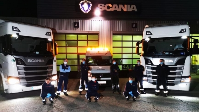 Scania sigue al pie del cañón