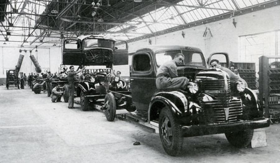 Camiones del Norte, estudio de una fábrica de autocamiones - Camión ...