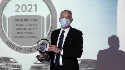 Grupo PSA ya tiene su International Van of the Year 2021 Award