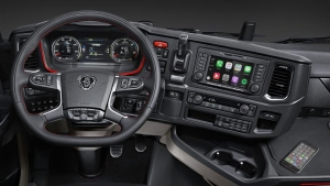 Scania Apple CarPlay