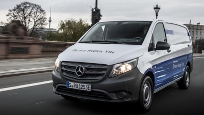 La Mercedes-Benz Vans eVito ya está disponible