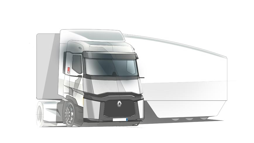 Renault Trucks FALCON sketch