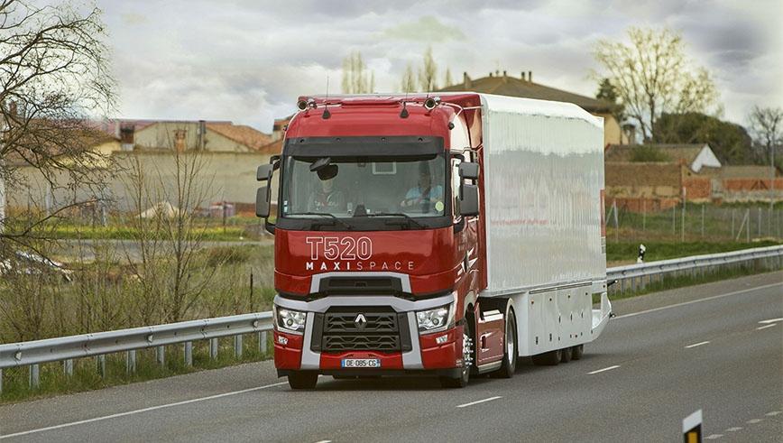 prueba cami n renault t 520 maxispace cami n actualidad noticias de camiones y furgonetas. Black Bedroom Furniture Sets. Home Design Ideas