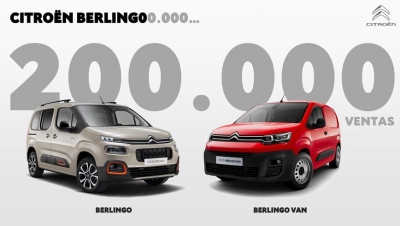 Citroën Berlingo supera las 200.000 unidades vendidas