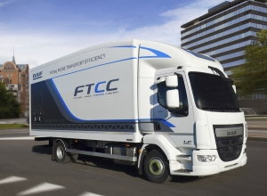 Future Trruck Chassis Concept de DAF