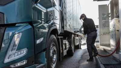 Volvo Trucks ve el gas como una alternativa al diésel